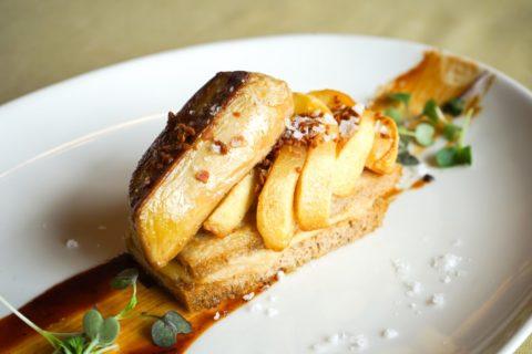 poma amb foie